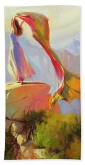 Spirit Of The Canyon Hand Towel