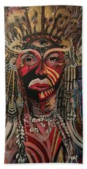 Spirit Portrait Hand Towel