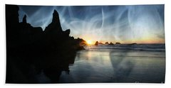 Spirits At Sunset Bath Towel