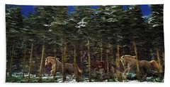 Spirits Of The Forest Bath Towel
