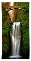 Spiritual Falls Hand Towel by Scott Mahon