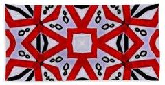 Bath Towel featuring the digital art Spiro #3 by Writermore Arts