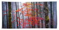 Hand Towel featuring the photograph Splash Of Colour by Elena Elisseeva