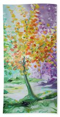 Splash Tree Hand Towel