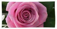 Splendid Rose Hand Towel