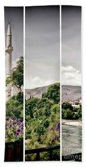Split Landscape Bath Towel by Ana Mireles