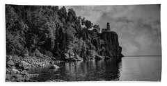 Split Rock Lighthouse Bath Towel