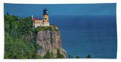 Split Rock Lighthouse View Hand Towel