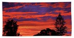 Sploingle Sunset Hand Towel by Mark Blauhoefer