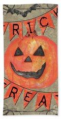 Spooky Pumpkin 1 Hand Towel