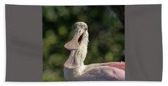 Spoonbill Talk Bath Towel