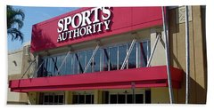 Sports Authority Building. Florida Bath Towel