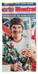 Sportsman Of The Year Pete Rose Hand Towel