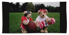 Sporty Teddy Bears Hand Towel
