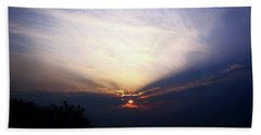 Spotlight Sunrise Hand Towel