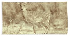 Spotted Fawn Hand Towel