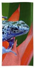 Sprawled - Poison Dart Frog Bath Towel