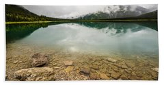 Spray Lake Alberta Hand Towel