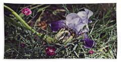 Hand Towel featuring the photograph Spring 2016 17 by Cendrine Marrouat