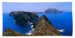 Spring At Anacapa Island, Channel Hand Towel
