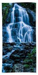 Spring At Moss Glen Falls Hand Towel