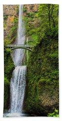 Spring At Multnomah Falls Hand Towel