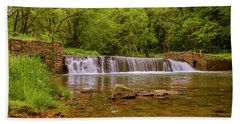 Bath Towel featuring the photograph Spring At Valley Creek by Rima Biswas