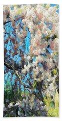 Spring Awakenings Bath Towel by Miriam Danar