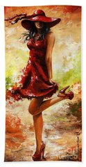 Spring Breeze Hand Towel by Emerico Imre Toth