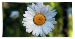 Spring Daisy Bath Towel by Jeff Severson