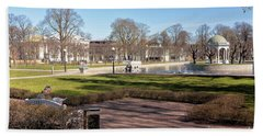 Spring Day At The Park Bath Towel