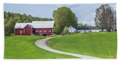 Spring Farm Hand Towel by Tim Kirchoff