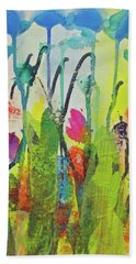 Spring Flowers Hand Towel