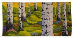 Spring Forest Bath Towel