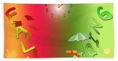 Spring Forward / Fall Back - Dst Hand Towel