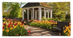 Spring Gazebo Bath Towel