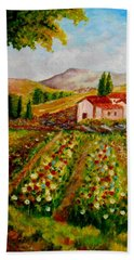 Spring In France Bath Towel