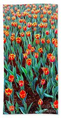 Spring In Holland Hand Towel by Ian Gledhill