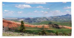 Spring In The Cody Area Hand Towel