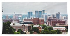 Hand Towel featuring the photograph Spring In The Magic City - Birmingham by Shelby Young