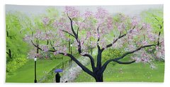 Spring In The Park Hand Towel