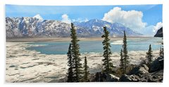 Spring In The Wrangell Mountains Hand Towel
