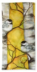Spring Hand Towel by Inese Poga