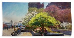 Spring Morning On John Finley Walk Hand Towel