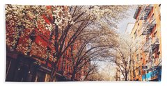 Spring - New York City - Lower East Side Hand Towel