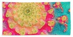 Spring On Parade 2 Bath Towel by Bonnie Bruno