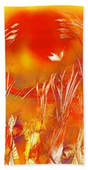 Spring On The Red Planet Hand Towel