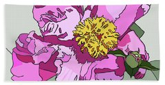 Spring Pink Hand Towel by Jamie Downs
