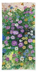 Spring Splendor Hand Towel by Lucia Grilletto