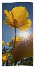 Spring Starburst Bath Towel